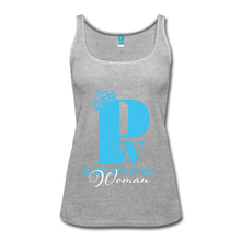 Load image into Gallery viewer, Purposeful Woman Tank Top - heather gray