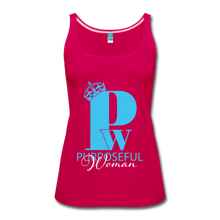 Load image into Gallery viewer, Purposeful Woman Tank Top - dark pink