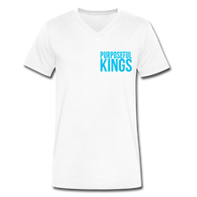 Load image into Gallery viewer, Men's  Purposeful Kings V-Neck - white
