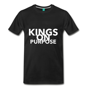 Kings On Purpose Men's Premium T-Shirt - black