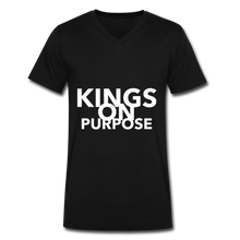 Load image into Gallery viewer, Kings On Purpose Men's V-Neck - black