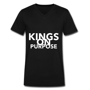 Kings On Purpose Men's V-Neck - black