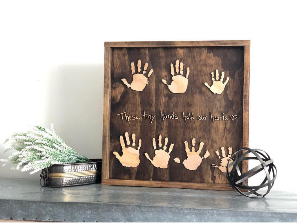 Multiple Hands or Footprint Signs