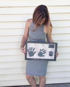 Hand and footprint sign 2-4 prints
