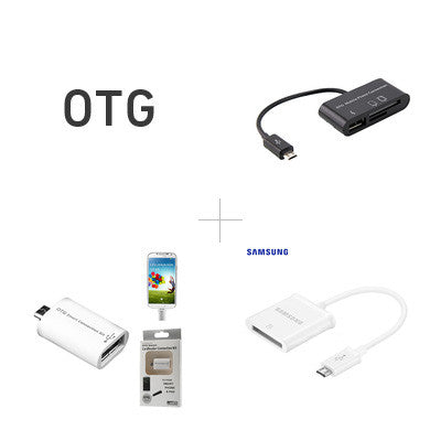 OTG Adapter & Kabel (USB On-The-Go)
