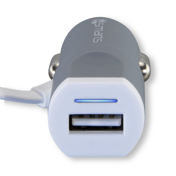 4smarts multicord 3 4a micro usb usb c car charger black grey morewhen the