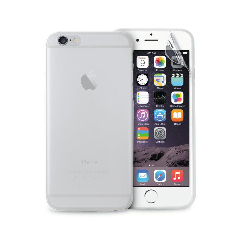 iPhone 6   6s Puro Ultra Slim 0.3 mm. Cover Glossy Gennemsigtig ... a0101ed25c4f1
