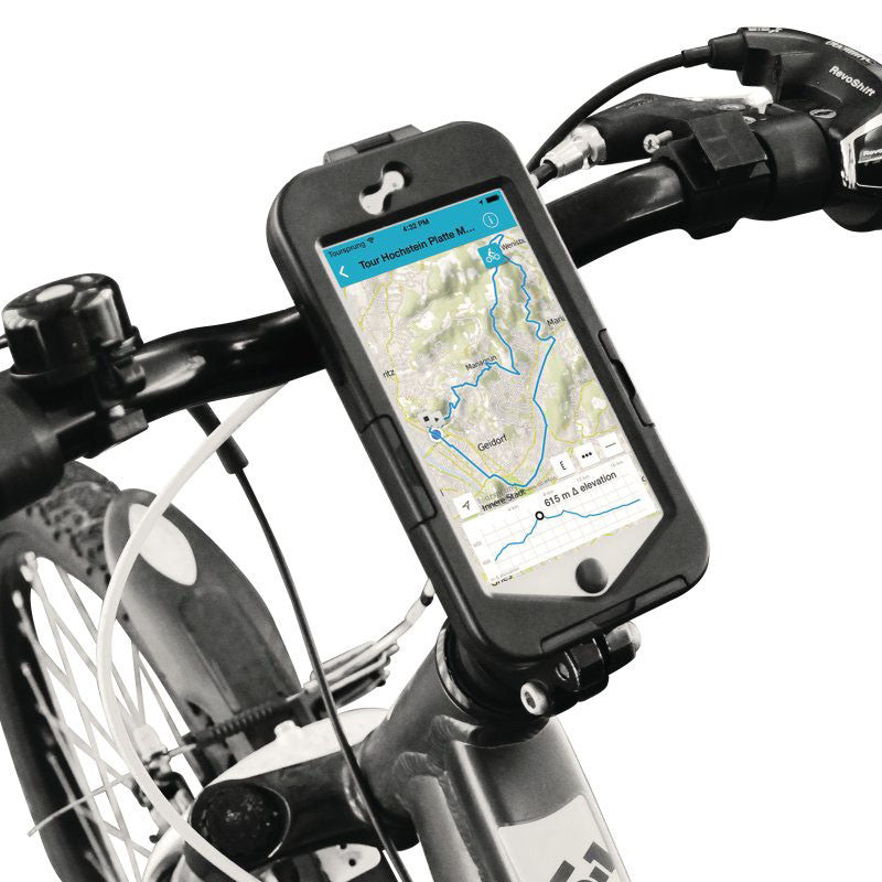 Populære iPhone 6 / 6s Puro 360 Graders Cykelholder - Sort | MOBILCOVERS.DK OW-28