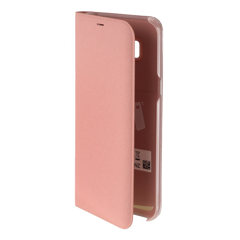 san francisco 60f07 c3506 Original Samsung Galaxy S8+ (S8 Plus) LED View Cover Etui m. Pung -  EF-NG955PP - Pink