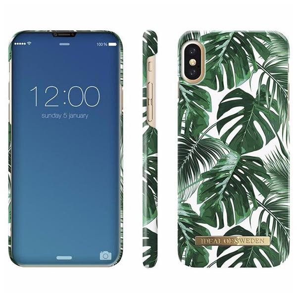 buy popular f2db4 00a69 iDeal Of Sweden iPhone XS Max Fashion Case Monstera Jungle