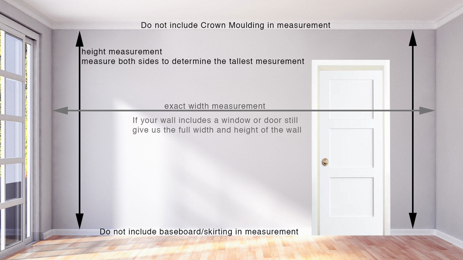 How to measure your wall - top 10 tips
