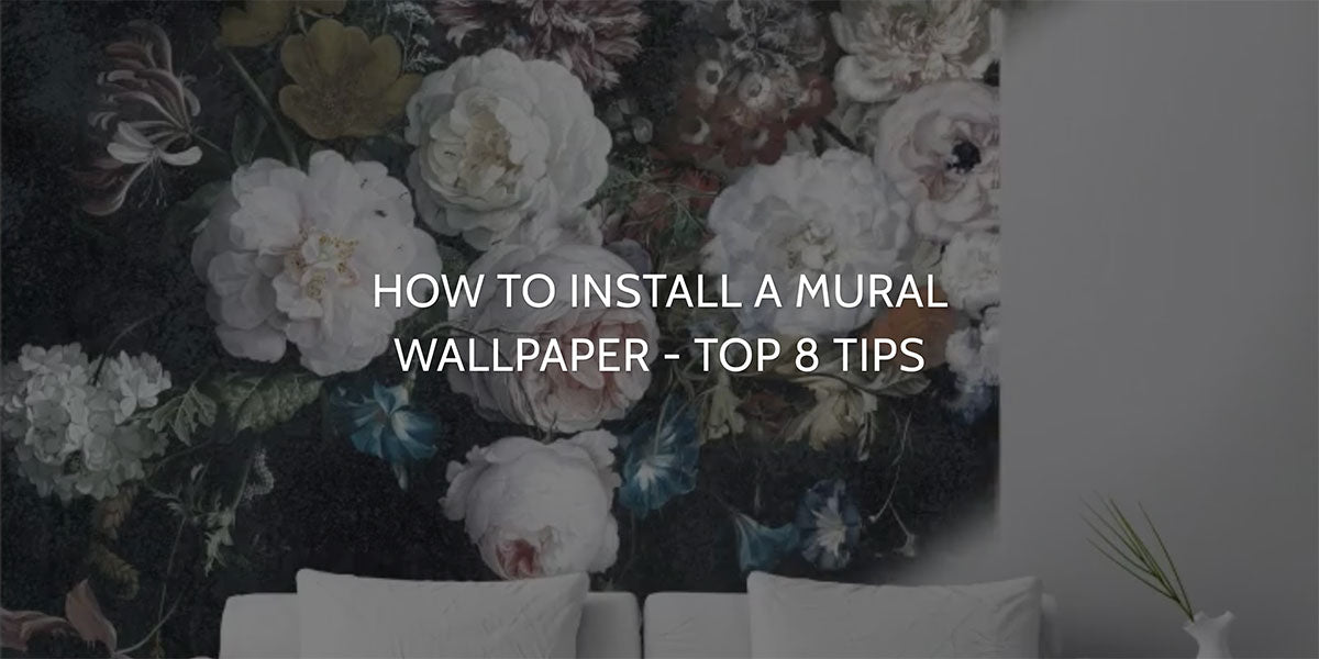 Read our Blog How to Install a Mural Wallpaper