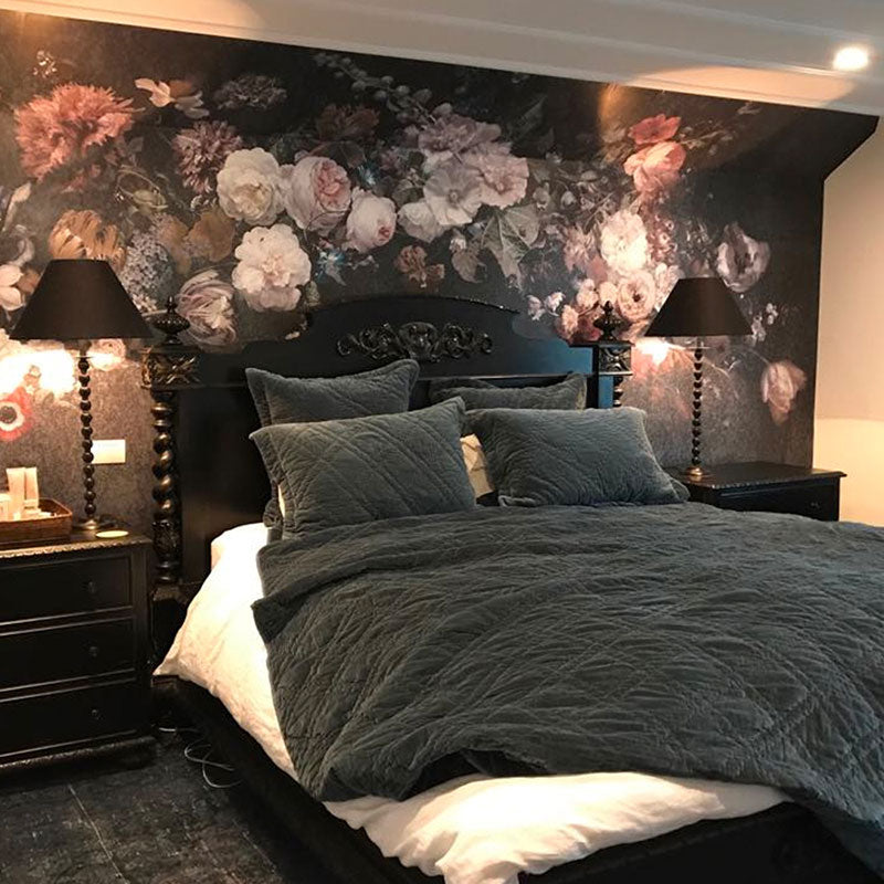 Floral Wall Mural by Back to the Wall