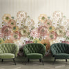 Arlette Mural Wallpaper for Foyer by MM Linen for Back to the Wall