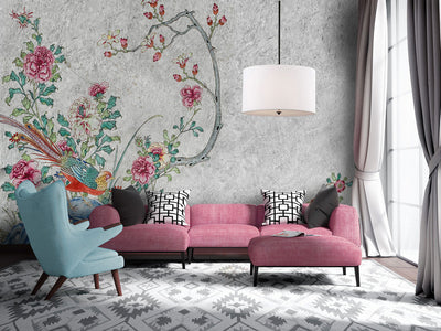 Chinoiserie Print Wall Murals by Back to the Wall