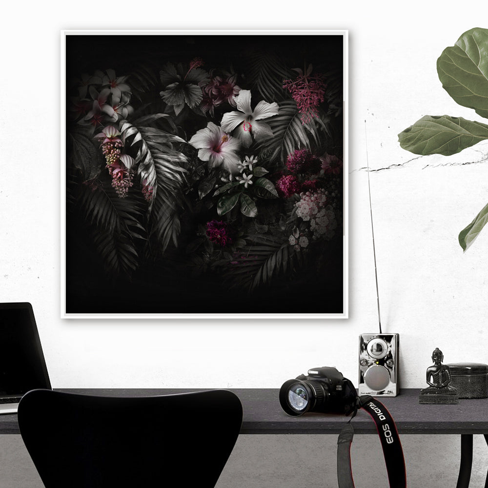 Dark Paradiso Art Print by Back to the Wall