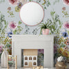 Elaria Mural Wallpaper for Nursery by MM Linen for Back to the Wall
