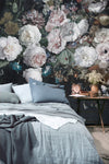 Faded Glory Floral Bouquet Wall Mural by Back to the Wall