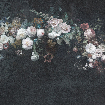 Faded Glory Garland | Floral Wall Mural by Back to the Wall