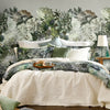 Florian Floral Mural Wallpaper for a bedrooom by MM Linen for Back to the Wall