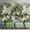 Florian Floral Mural Wallpaper for a Living Room by MM Linen for Back to the Wall
