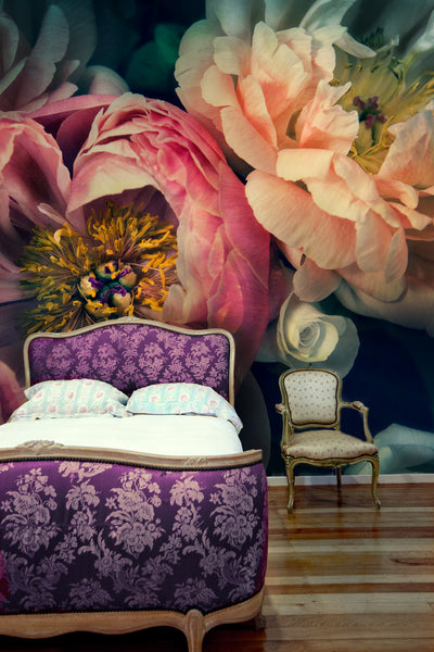 Peonies Wallpaper & Murals by Helen Bankers Photographer