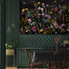 Maisie Floral Mural Wallpaper for dining room by MM Linen for Back to the Wall