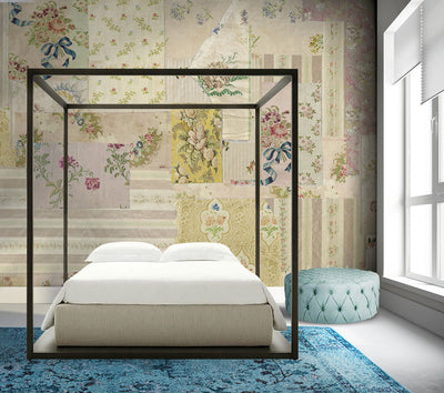 Salon de Couture French Inspired Wall Mural by Back to the Wall