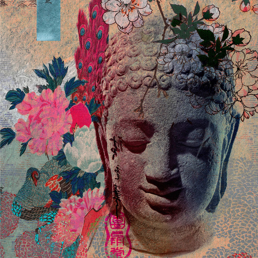 Serene Buddha | Wall Mural by Back to the Wall