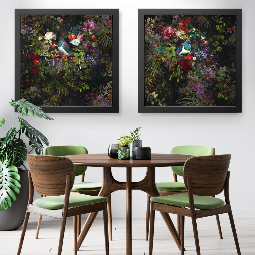 The Best Nest Diptych Art Prints by Back to the Wall