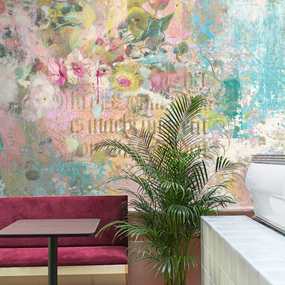 Paint & Gilt Wall Mural by Back to the Wall