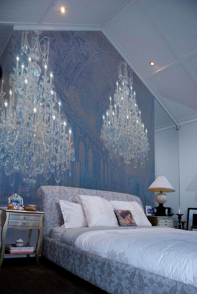 Chandelier Palace Wall Mural by Back to the Wall