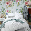 Elaria Mural Wallpaper for Bedroom by MM Linen for Back to the Wall