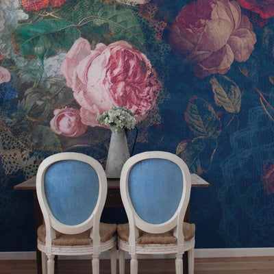 Floral Dolly Bouquet Wall Mural by Back to the WallFloral Dolly Bouquet Wall Mural by Back to the Wall