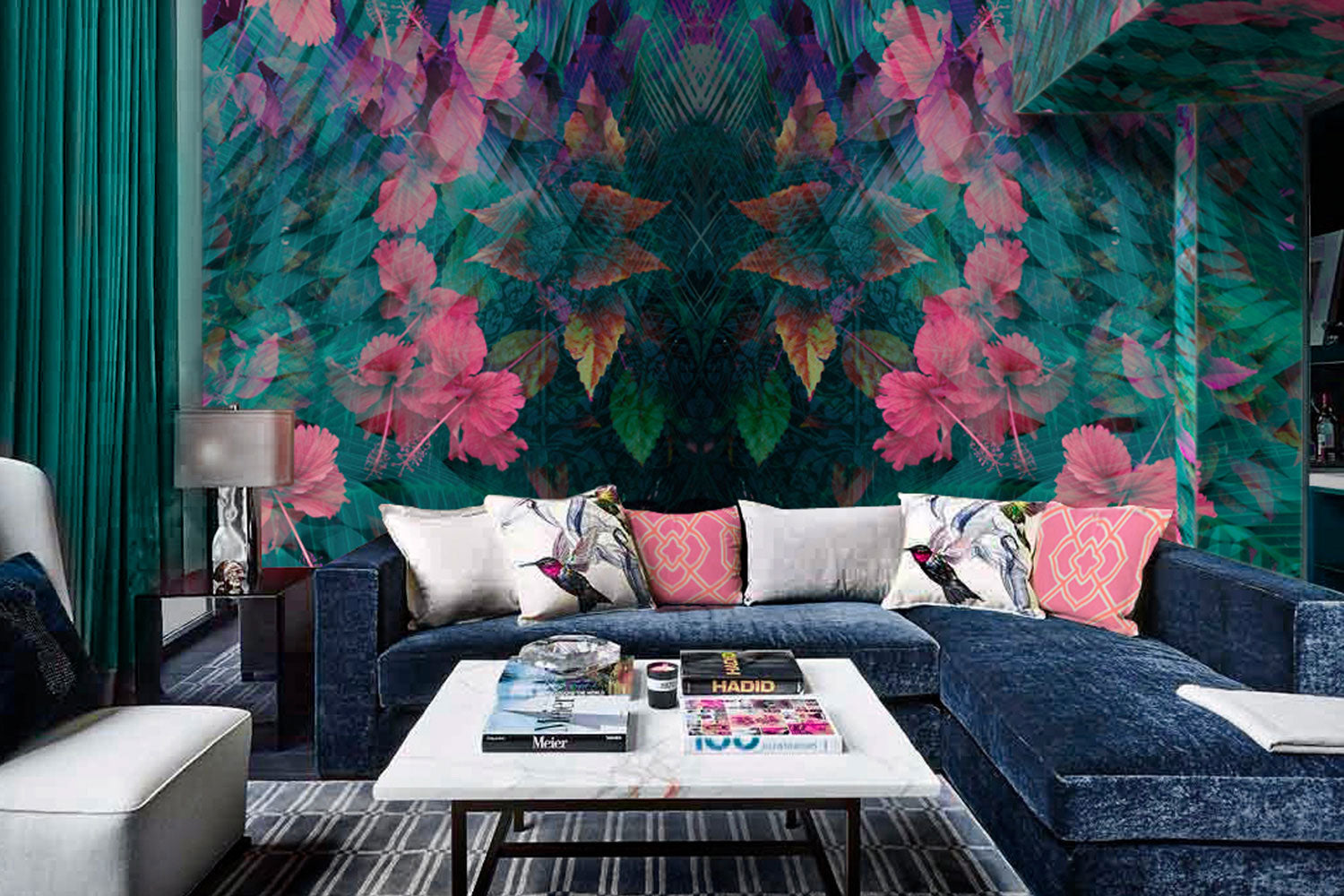 Kaleidoscope Wall Mural by Back to the Wall