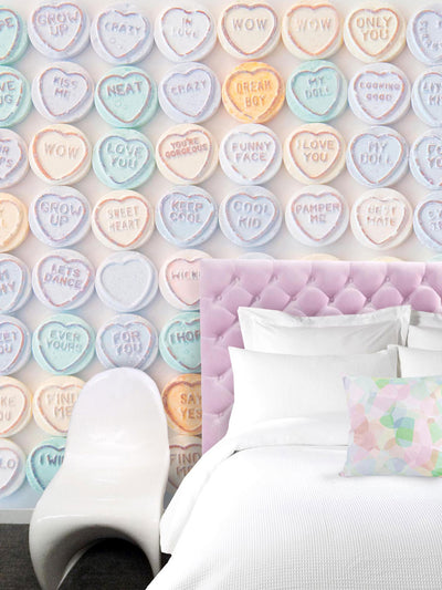 Lollies Candy Inspired Wall Mural by Back to the Wall