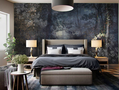 Moonlighting Wall Mural by Back to the Wall
