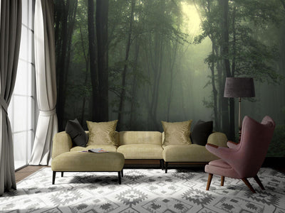 Mystical Woods Wall Mural by Back to the Wall
