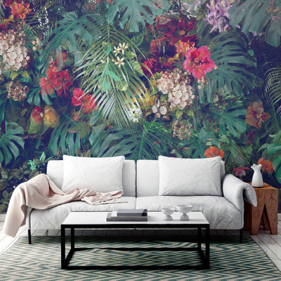 Pacifica Tropical Wall Mural by Back to the Wall
