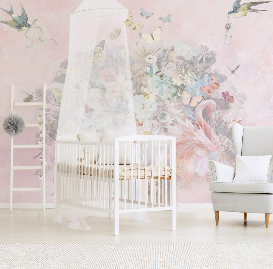Baby Child Wall Murals For The Nursery Childs Bedroom