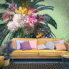 Floral Palm for a Teennager's Room | Wall Mural by Back to the Wall