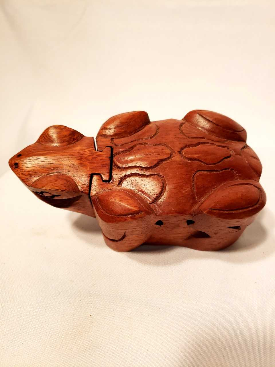 Wooden Puzzle Box - Turtle - TVM Importing
