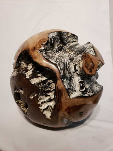 Teak Root Sculpture Ball - TVM Importing