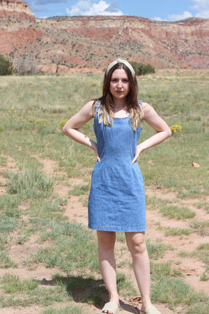 Vintage Denim Dress