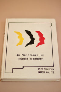 All People Should Live Together in Harmony Book - New Mexico 1978