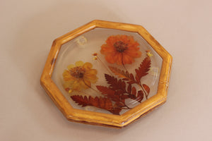 70's Resin Flower Stand
