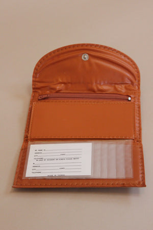 Rust Orange Wallet
