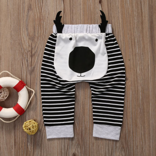 Nose Reindeer - Casual Infant & Toddler Bottoms Pants/Trousers