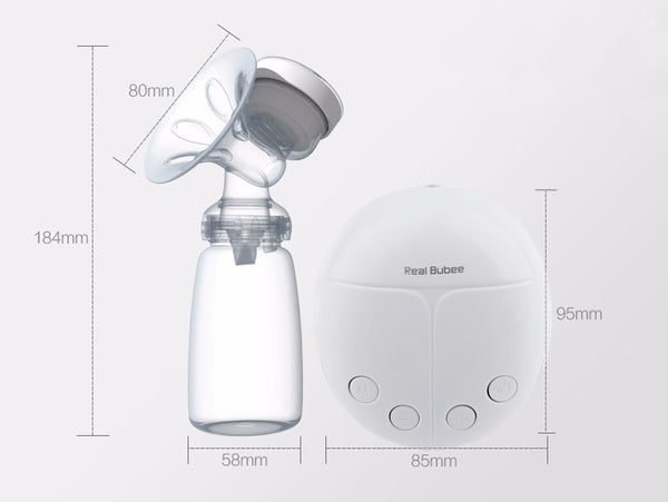 Single/Double Powerful Electric Breast Pump With Milk Bottle BPA free