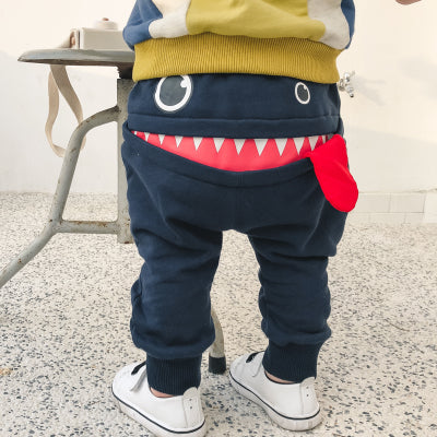 Baby Toddler Full Pants Monster hungry
